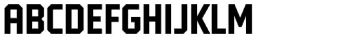 Tradesman Cond Bold Font UPPERCASE