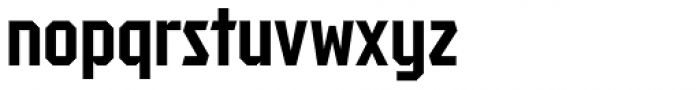 Tradesman Cond Bold Font LOWERCASE