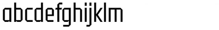 Tradesman Cond Book Font LOWERCASE