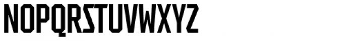 Tradesman Ex Cond Font UPPERCASE