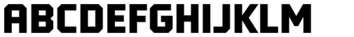 Tradesman SC Black Font UPPERCASE