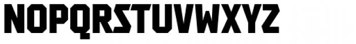 Tradesman SC Cond Black Font UPPERCASE