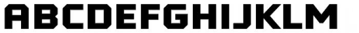 Tradesman SC Wide Black Font LOWERCASE