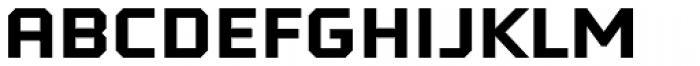 Tradesman SC Wide Bold Font LOWERCASE