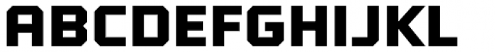 Tradesman Wide Black Font UPPERCASE