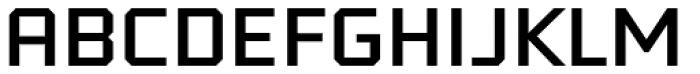 Tradesman Wide Font UPPERCASE