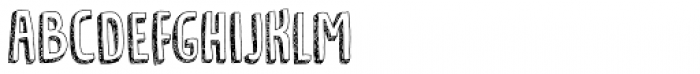 Tradizional Font LOWERCASE