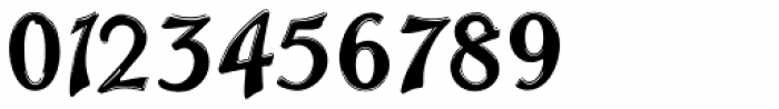 Trailer Park Numerals Font OTHER CHARS
