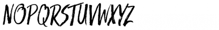 Trailmade Italic Font UPPERCASE