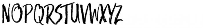 Trailmade Regular Font UPPERCASE