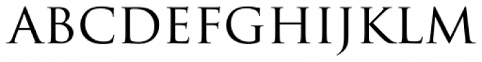 Trajan Pro Font LOWERCASE