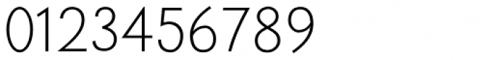 Trajana Sans Light Font OTHER CHARS