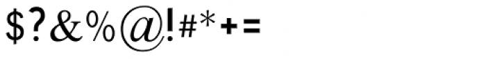 Traklin MF Light Font OTHER CHARS