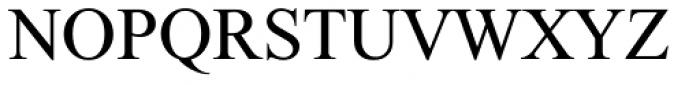 Traklin MF Light Font UPPERCASE