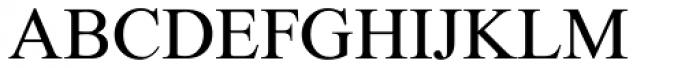 Traklin MF Regular Font UPPERCASE