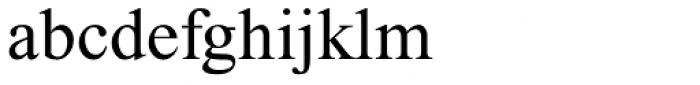 Traklin MF Regular Font LOWERCASE
