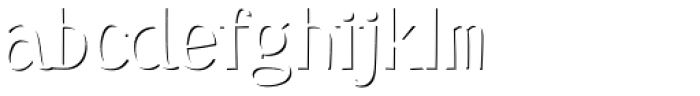 Trali-Vali Shadow Font LOWERCASE