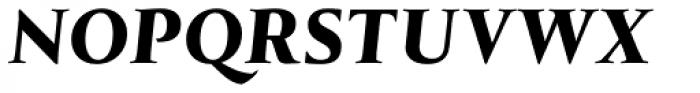Tramuntana 1 Caption Pro Heavy Italic Font UPPERCASE
