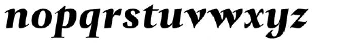 Tramuntana 1 Caption Pro Heavy Italic Font LOWERCASE
