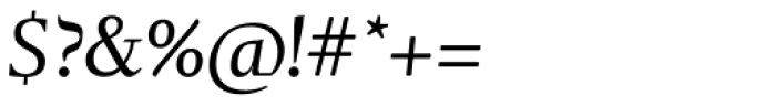 Tramuntana 1 Caption Pro Italic Font OTHER CHARS