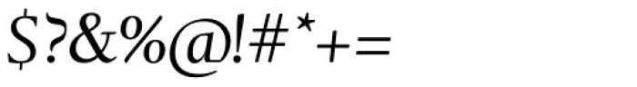 Tramuntana 1 Subhead Pro Italic Font OTHER CHARS