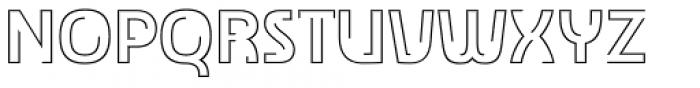 TransRim Display Regular Font UPPERCASE