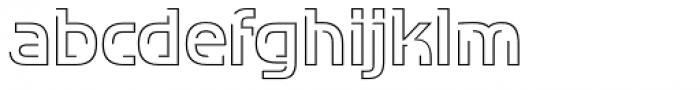 TransRim Display Regular Font LOWERCASE