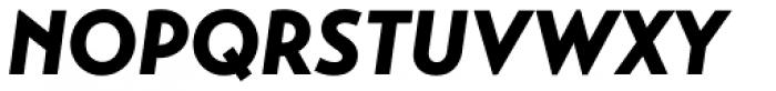 Transat Black Oblique Font UPPERCASE