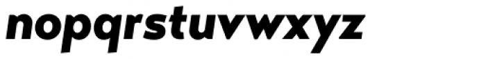 Transat Black Oblique Font LOWERCASE
