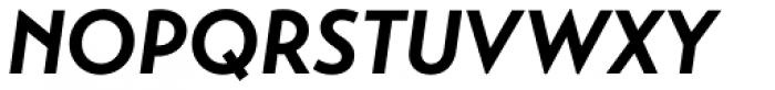 Transat Bold Oblique Font UPPERCASE