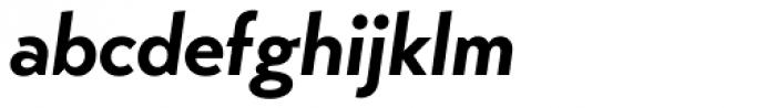 Transat Bold Oblique Font LOWERCASE