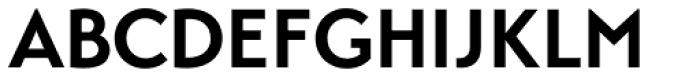 Transat Bold Font UPPERCASE