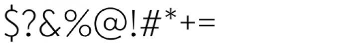 Transat Light Font OTHER CHARS