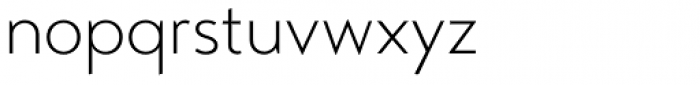 Transat Light Font LOWERCASE
