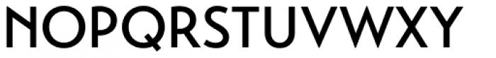 Transat Medium Font UPPERCASE