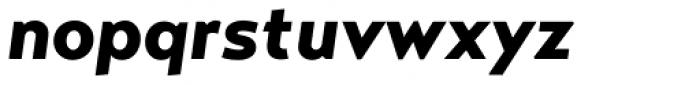 Transat Text Black Oblique Font LOWERCASE