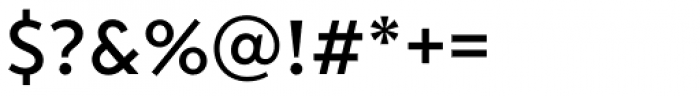 Transat Text Medium Font OTHER CHARS