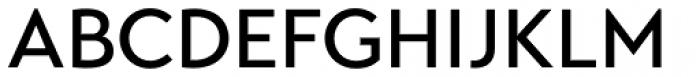 Transat Text Medium Font UPPERCASE