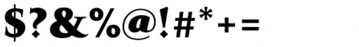 Transcend Ultra Font OTHER CHARS