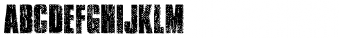Transit Display Font UPPERCASE