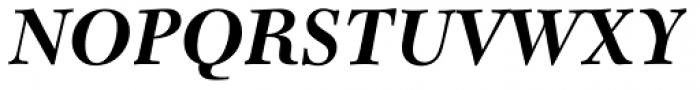 Transitional 511 Bold Italic Font UPPERCASE