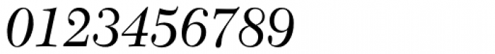 Transitional 511 Italic Font OTHER CHARS