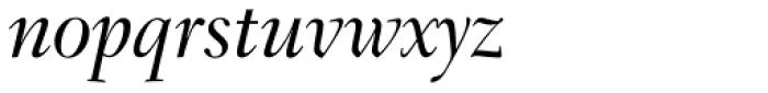 Transitional 551 Medium Italic Font LOWERCASE