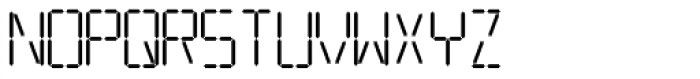 Transponder AOE Font UPPERCASE