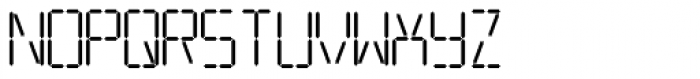 Transponder AOE Font LOWERCASE
