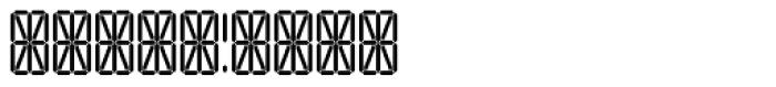 Transponder Grid AOE Font OTHER CHARS