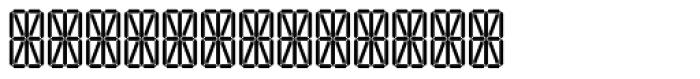Transponder Grid AOE Font UPPERCASE
