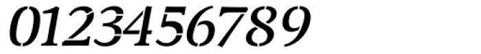 Transport Italic Font OTHER CHARS