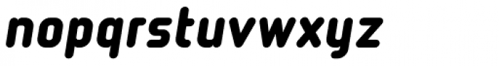 Tranzit Italic Font LOWERCASE