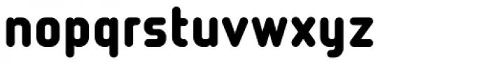 Tranzit Font LOWERCASE